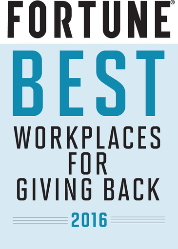 Fortune 2016 Best Giving Back