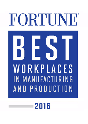 Fortune Best Manufacturing Workplace